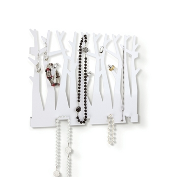 Imagen de Organizador de bijou para pared modelo CANOPY blanco