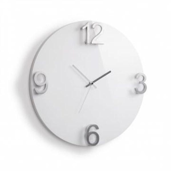 Picture of Reloj de pared blanco ELAPSE