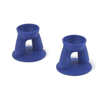 Imagen de Set 2 tazas azules para huevo modelo BUDDY