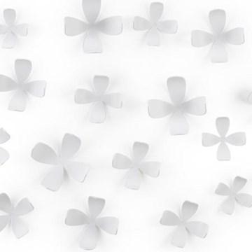 Imagen de Decoración pared blanco x25 WALLFLOWER