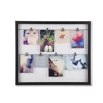 Imagen de Portarretratos negro x7 CLIPLINE