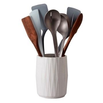 Imagen de Pote para espátulas cerámica
