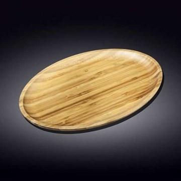 Imagen de Fuente ovalada bambú 35.5x24.5cm