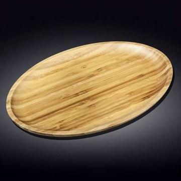 Imagen de Fuente ovalada bambú 45.5x33.5cm