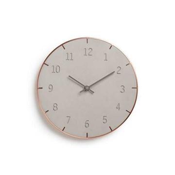 Imagen de Reloj pared concreto 25.4cm PIATTO