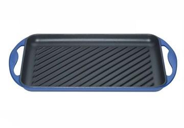 Imagen de Grill rectangular azul marsella