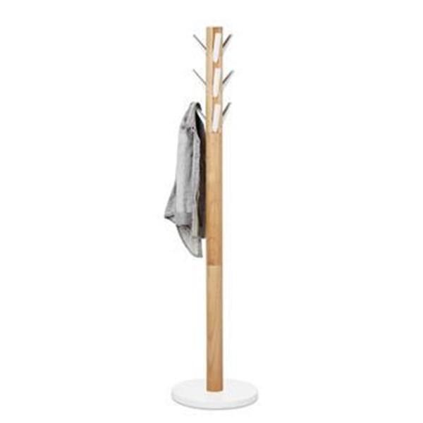 Picture of Perchero de pie blanco/natural FLAPPER