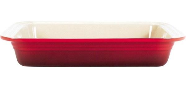 Picture of Fuente rectangular cereza 34x39cm