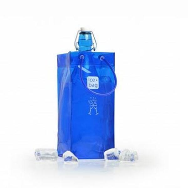 Picture of Bolsa para 1 botella azul francia BASIC