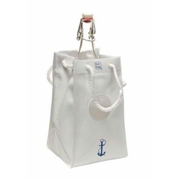 Imagen de Bolsa para 1 botella blanca c/ventosas PRESTIGE YATE