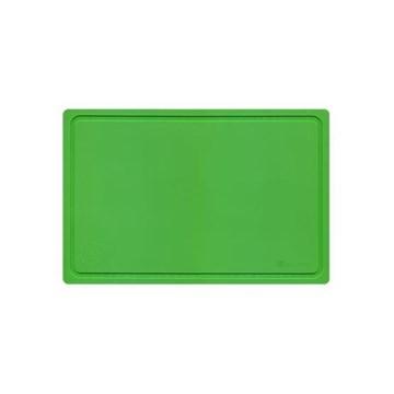 Imagen de Tabla para picar 38x25x0.4cm verde