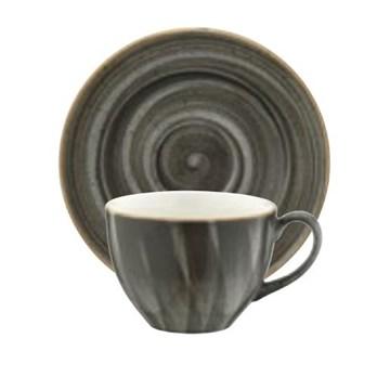 Imagen de Taza té 230 ml y plato Aura Space