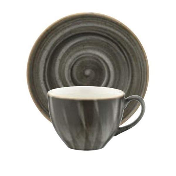 Picture of Taza té 230 ml y plato Aura Space