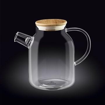 Imagen de Tetera c/tapa bambú 1600ml THERMO GLASS