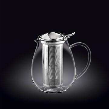 Imagen de Tetera c/infusor inox 850ml THERMO GLASS
