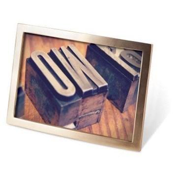 Imagen de Portarretratos 10x15 bronce mate SENZA
