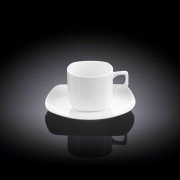 Imagen de Set 6 tazas café c/plato 90ml ILONA