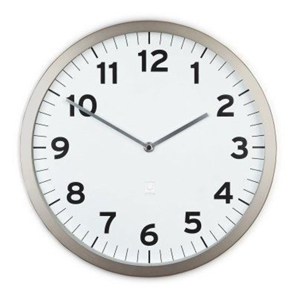 Picture of Reloj pared 32cm blanco ANYTIME