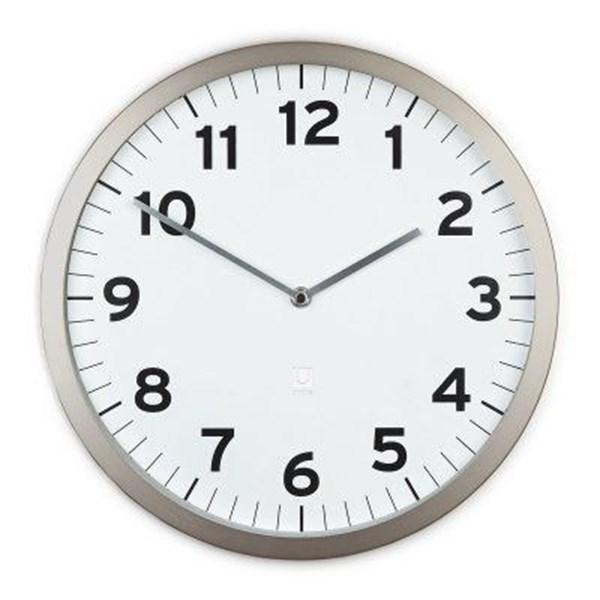 97feae69f3f1 Puntodesign - Decoración del hogar. Reloj pared 32cm blanco ANYTIME
