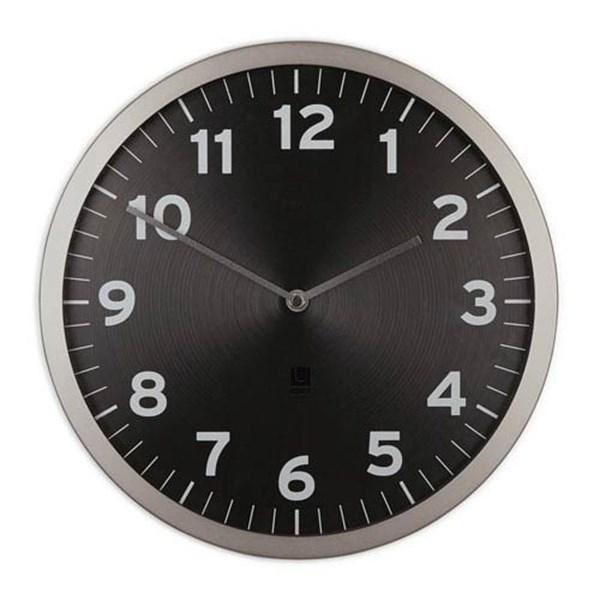 808ca10e4274 Puntodesign - Decoración del hogar. Reloj pared 32cm negro ANYTIME