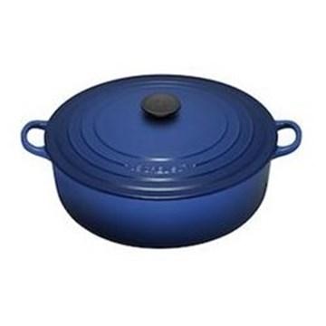 Imagen de Cocotte azul cobalto 30cm RISOTTO