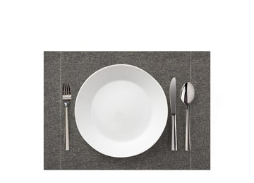 Imagen de Individuales antimanchas gris  x2