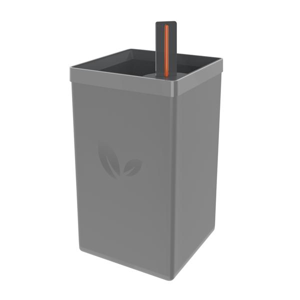Picture of Maceta Autoirrigable 0.6 L Gris