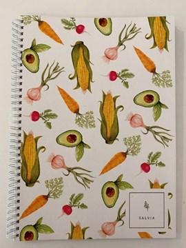 Imagen de Cuadernola ecológica VEGGIE - SALVIA