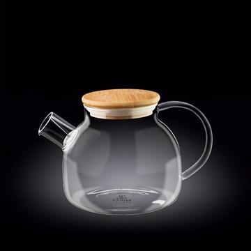 Imagen de Tetera con tapa de bamboo 950ML THERMO GLASS