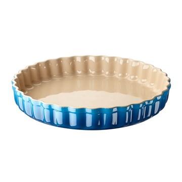Imagen de Molde cerámica de grès 28 cm AZUL MARSELLA