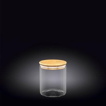 Imagen de FRASCO CON TAPA BAMBOO 760ML THERMO GLASS