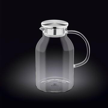 Imagen de JARRA CON TAPA ACERO INOX 2100ML THERMO GLASS
