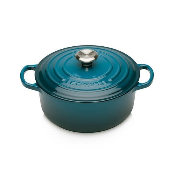 Picture of OLLA COCOTTE REDONDA DEEP TEAL